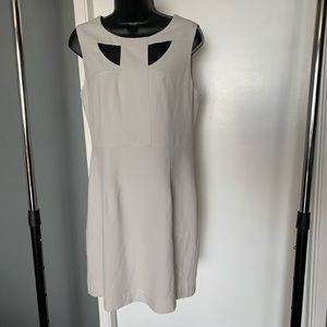like new Forever 21 white/cream cutout dress 6/$14